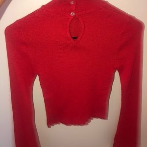 Cropped sweater shirt. Only worn once.